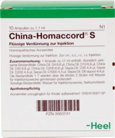 CHINA HOMACCORD S Ampullen