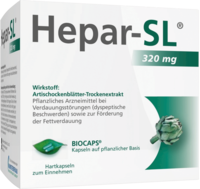 MCM KLOSTERFRAU Vertr. GmbH HEPAR SL 320 mg Hartkapseln 200 St