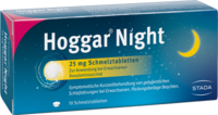 HOGGAR Night 25 mg Schmelztabletten
